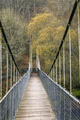 Suspension bridge made of wood and steel - PhotoDune Item for Sale