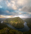 Meander of the Sil river between granite cliffs - PhotoDune Item for Sale