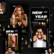 Urban New Year - Animated Instagram Stories - GraphicRiver Item for Sale