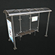 Bus Stop Shelter - Low Poly - 3DOcean Item for Sale