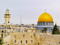 Wailing Wall and Al Aqsa Mosque - PhotoDune Item for Sale