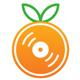 Upbeat Happy Ukulele Logo