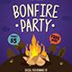 Bonfire Flyer - GraphicRiver Item for Sale