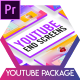 Glassmorphism Youtube End Screens - VideoHive Item for Sale