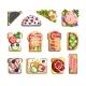Junk Nourishment Sandwich Toast Menu Fast Food Set - GraphicRiver Item for Sale