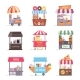 Street Food Stall Retail Business Marquee - GraphicRiver Item for Sale