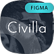 CiVilla - Personal CV_Resume Figma UI Template - ThemeForest Item for Sale