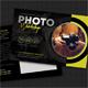 Photography Studio Postcard Template V07 - GraphicRiver Item for Sale
