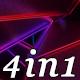 Inner Neon - VJ Loop Pack (4in1) - VideoHive Item for Sale