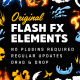 Original Flash FX Elements & Transitions [Ae] - VideoHive Item for Sale