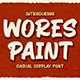 Wores Paint - Retro Display Font - GraphicRiver Item for Sale