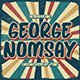 George Nomsay - Retro Display Font - GraphicRiver Item for Sale