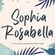 Sophia Rosabella - Signature Font - GraphicRiver Item for Sale