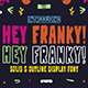 Hey Franky - Retro Display Font - GraphicRiver Item for Sale