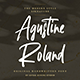 Agustine Roland - Signature Handwritten Font - GraphicRiver Item for Sale