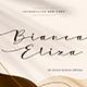 Bianca Eliza - Elegant Script Font - GraphicRiver Item for Sale