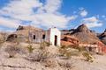 Desert landscape with historic adobe buildings - PhotoDune Item for Sale