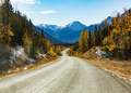Stewart-Cassiar Highway 37 in fall BC Canada - PhotoDune Item for Sale