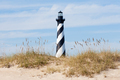 Cape Hatteras Lighthouse seen from beach NC USA - PhotoDune Item for Sale