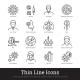 Viral Disease Diagnosis Symptoms Prevention Icon - GraphicRiver Item for Sale