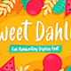 Sweet Dahlia - Cute Brush Font - GraphicRiver Item for Sale