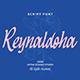 Reynaldoha Script Font - GraphicRiver Item for Sale