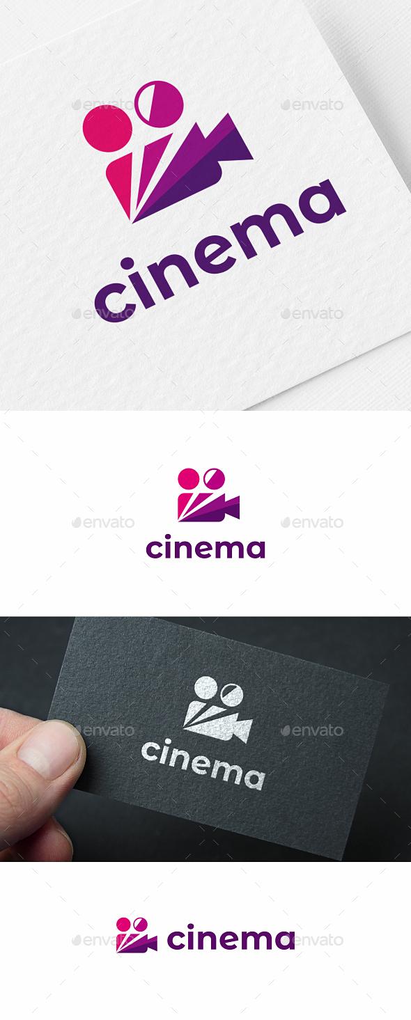 Video Camera Logo Template