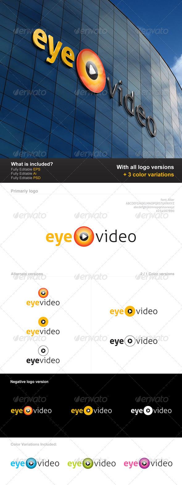 Eye Video Logo