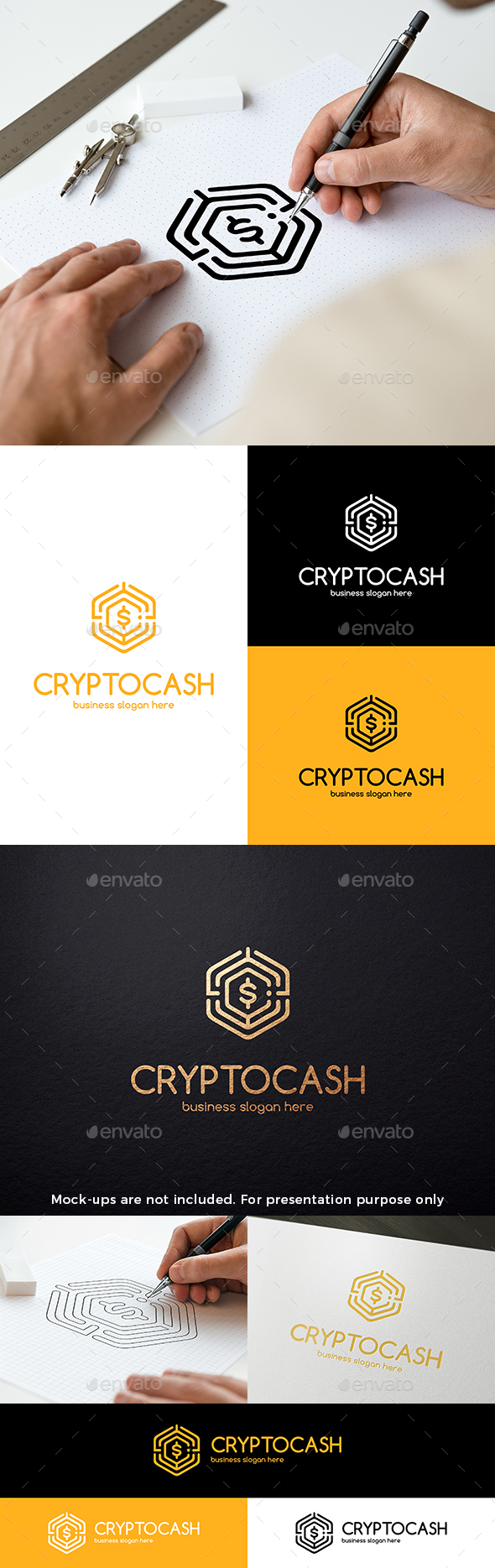 Bitcoin Crypto Currency Cash Logo