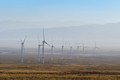 wind power plant on western wilderness - PhotoDune Item for Sale