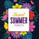 Spring Break / Summer Party - GraphicRiver Item for Sale