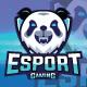 Angry Panda Esport Logo - GraphicRiver Item for Sale