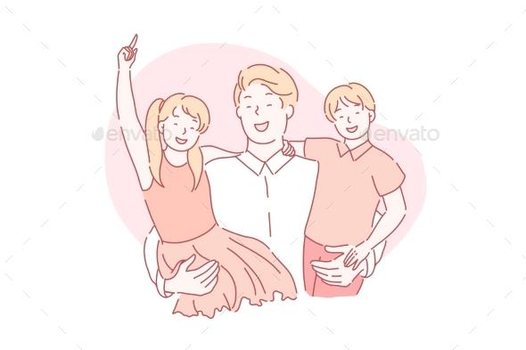 Fathers Day Fatherhood Paternity Concept