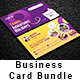 Travel Agency Business Card Bundle 2 in 1 - GraphicRiver Item for Sale