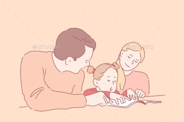 Preschool Education Parenthood Childhood Concept