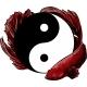 Yin Yang Betta Splendens Fish Vector Illustration - GraphicRiver Item for Sale