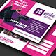 Dance Class Postcard - GraphicRiver Item for Sale