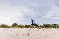 male runner run an evening training - PhotoDune Item for Sale