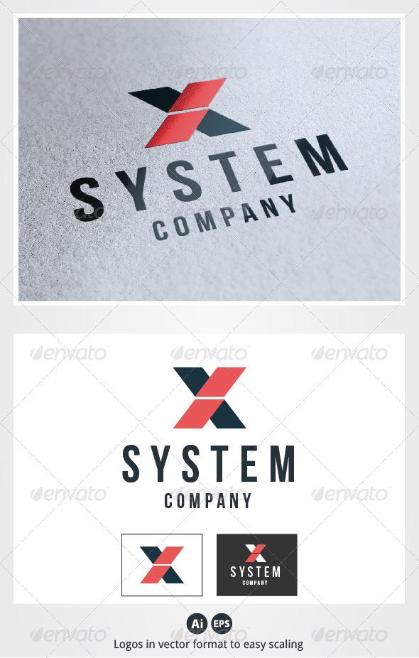 X System Letter Logo