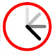 Clock Ticking Half a Second