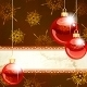 Elegant Christmas Banner With Transparent Ornament - GraphicRiver Item for Sale