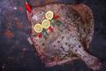 Flounder raw fish - PhotoDune Item for Sale
