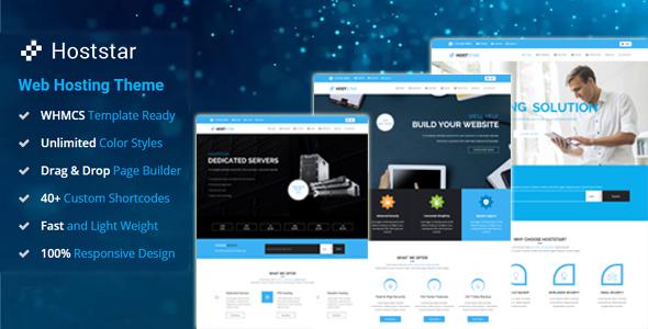 HostStar – WP Theme for Hosting, SEO and Web Design Business, Gobase64