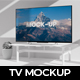 Clay Television Mockup - GraphicRiver Item for Sale