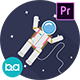 Space Animation Icons | Premiere Pro MOGRT - VideoHive Item for Sale
