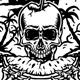 Skeleton Eating Fresh Fruit - GraphicRiver Item for Sale