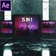 Cyber TV Glitch 5 in 1 - VideoHive Item for Sale