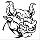 Angry Bull - GraphicRiver Item for Sale
