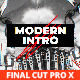 Modern Energetic Intro for Final Cut Pro X - VideoHive Item for Sale