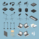 Sound Production Isometric Objects Set - GraphicRiver Item for Sale